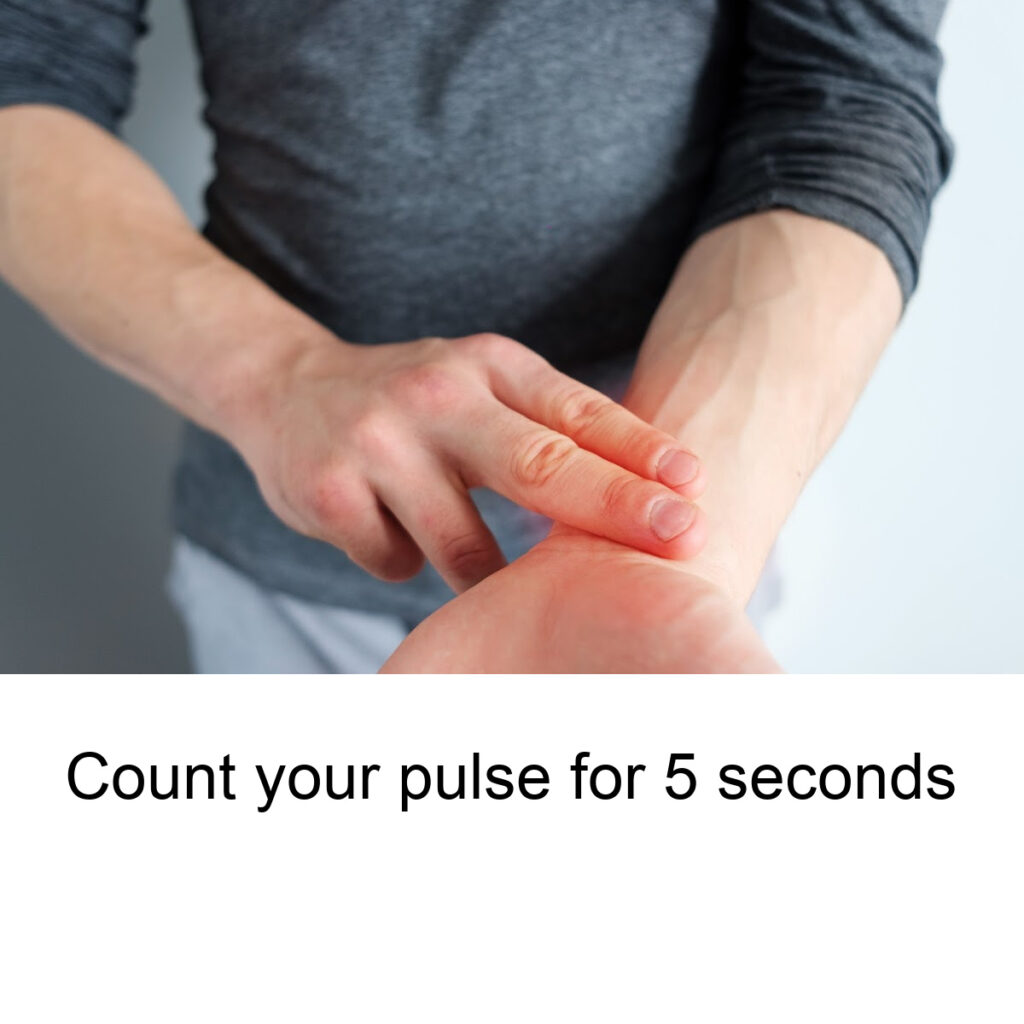 Talking your pulse