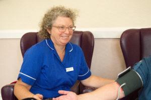 Nurse at Burton Court