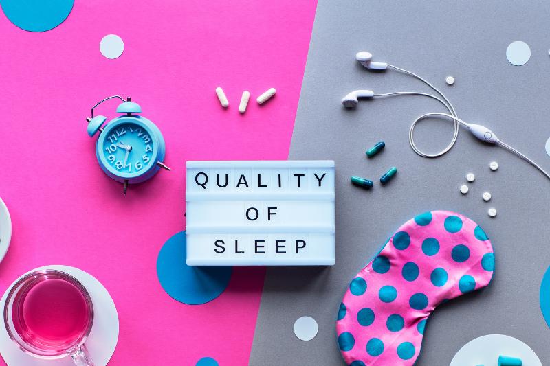 Quality of lockdown sleep